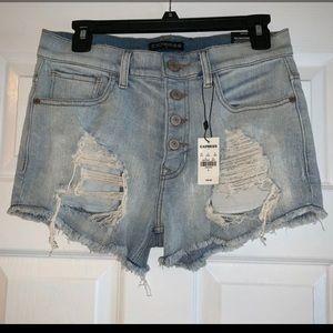 NWT Express Jean Shorts